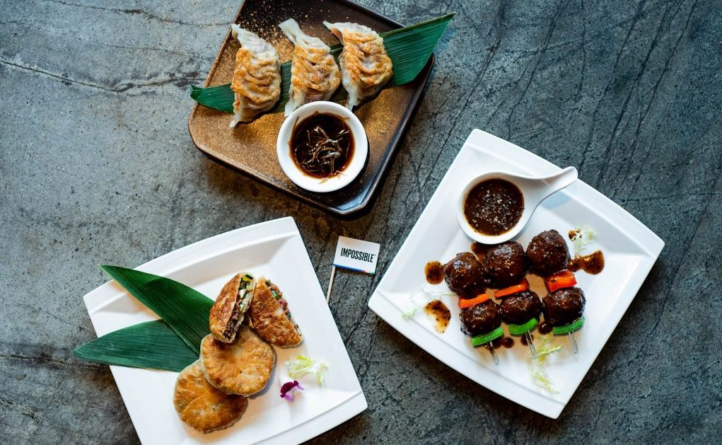 Chinese dishes with Impossible at EMPRESS (source: Prive Group)