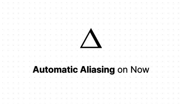 Automatic Aliasing on Now - ZEIT