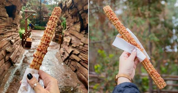 Have a Thing For Salty-Sweet Treats? Feast Your Eyes on Disney's Maple Bacon Churro