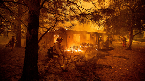 National Guard to help protect California towns from fires