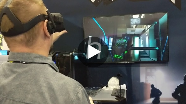 Our friends at UploadVR check out Espire 1: VR Operative on the show floor at the Game Developers Conference.
