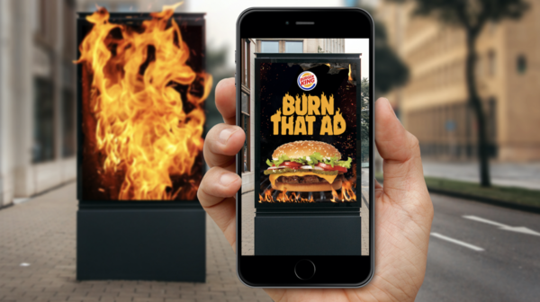 Burger King app lets users 'burn' rival fast food ads in exchange for free Whopper | The Drum