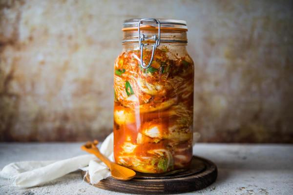Kimchi (klik hier voor het recept)