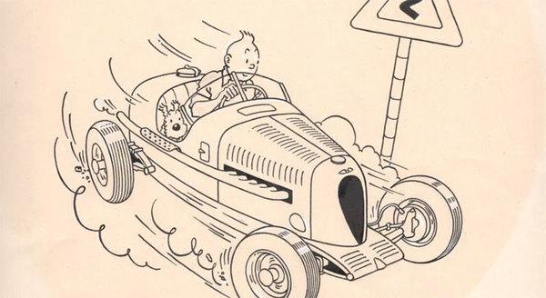 Hergé - Tintin Original Comic Art