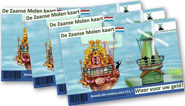 MolenCard bommetje onder 'verdienmodel' Zaanse Schans | De Orkaan