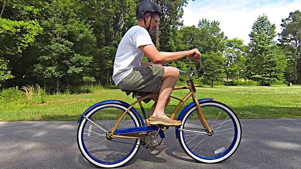 Mit diesem Rad kann man das Radfahren verlernen