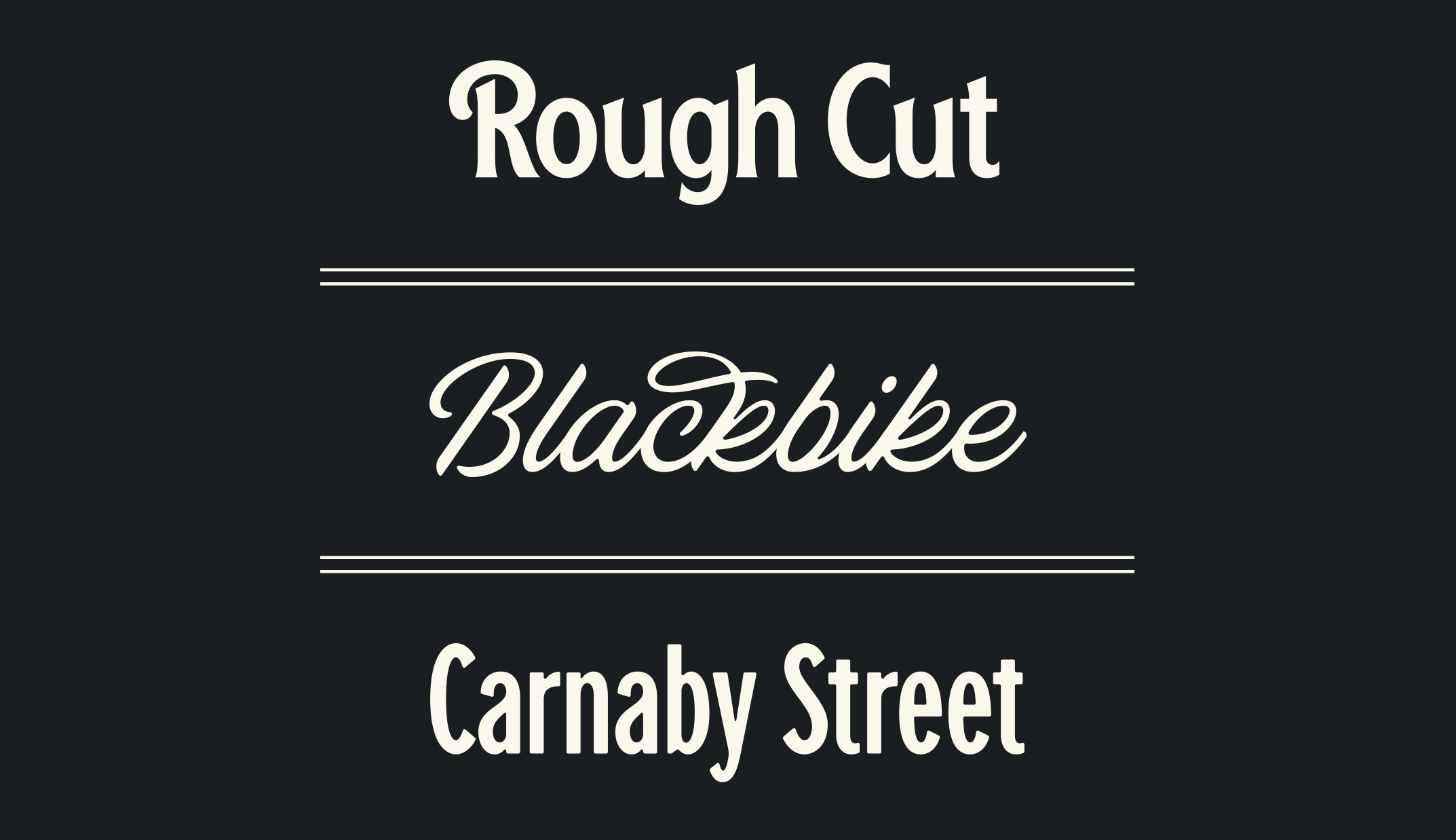 This week, get Beasts of England's all three font families for $130