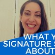 Signature Analysis: What Your Signature Says About Your Personality