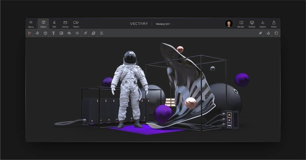 Vectary 3.0: The future of the web is 3D and AR