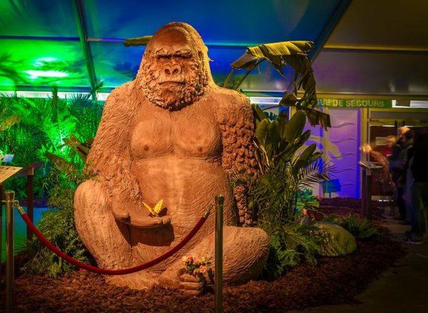 Un délicieux festival de sculptures en chocolat du 8 au 20 avril -  Heerlijk chocoladebeeldenfestival van 8 tot 20 april