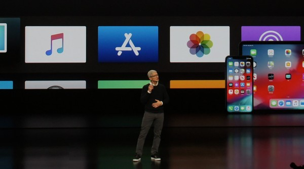 Apple CEO Tim Cook talks services