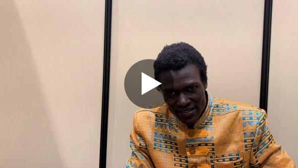 Dean interviews Sudanese game developer Lual Mayen, who spent 22 of his 24 years in a refugee camp. He's now making games.