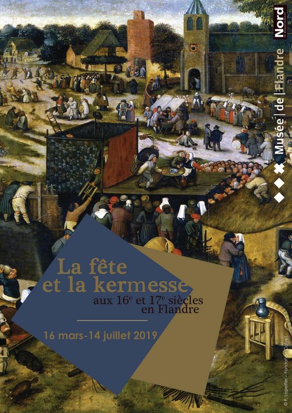 Feest in het Musée de Flandre in Cassel - C'est la fête au musée de Flandre à Cassel