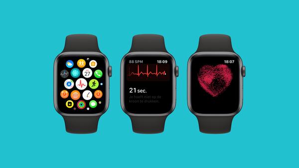 Apple Watch Series 4 maakt nu ook in Nederland hartfilmpjes - WANT