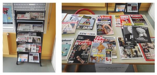 Semaine de la Presse : travail sur la revue de presse en 2ASSP et les fake news en 3PP