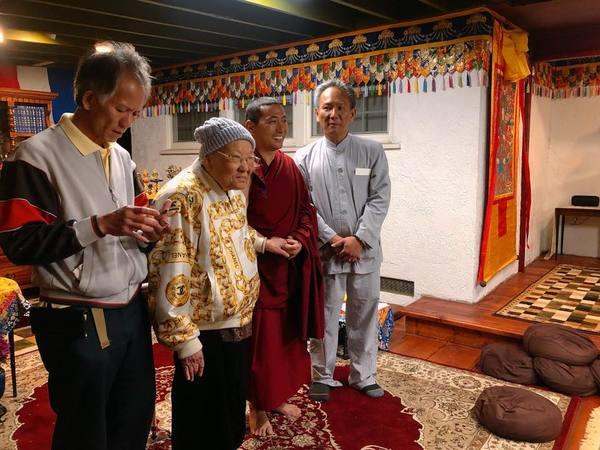 Tulku Migmar Tsering in US