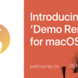 Demo Remote For MacOS