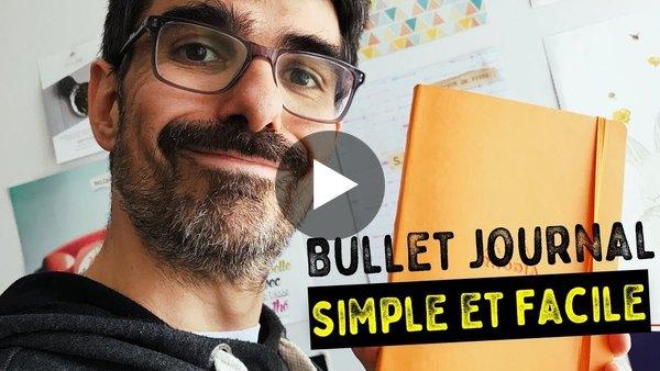 Comment Créer un Bullet Journal SIMPLE (Vraiment)