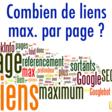 Référencement : combien inclure de liens au maximum sur une page ?