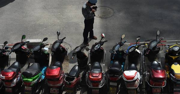 The problem with China's electric scooter revolution? It's too quiet