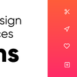 5 Free Design Resources — Icons