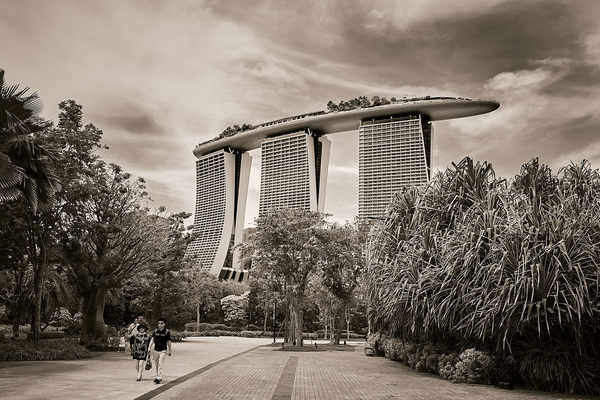 The famous Marina Bay Sands, Singapore.