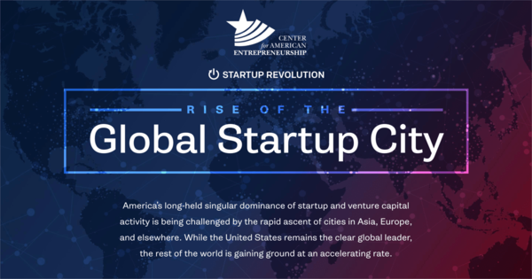 See where the global startup revolution is taking place