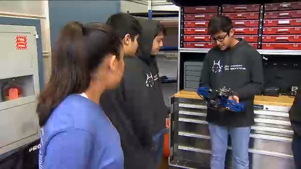 Madera High School's robotics team is ranked No. 1 in the world | abc30.com