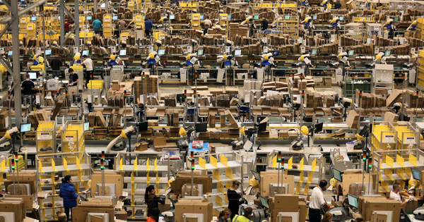 The Enormous Numbers Behind Amazon's Market Reach