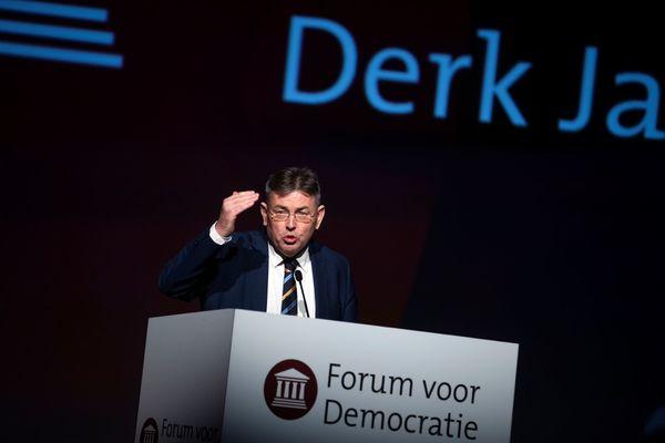 De Europese lijsttrekker van Forum voor Democratie
