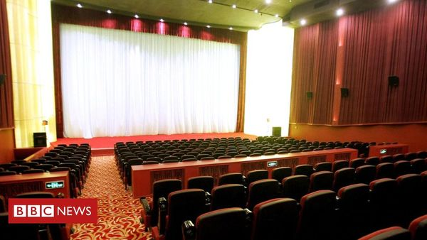 Movie madness: Why Chinese cinemas are empty but full - BBC News