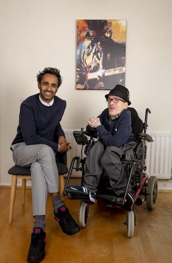 Rohan Silva and me (Photo credit: Geoff Pugh)
