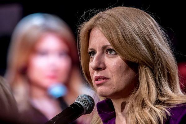 De nieuwe president van Slowakije Caputova