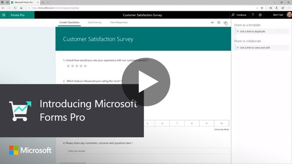 Introducing Microsoft Forms Pro