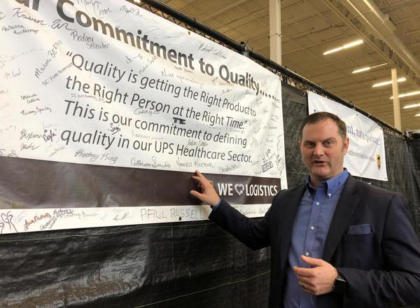 United Parcel Service Pilots In-home Vaccinations
