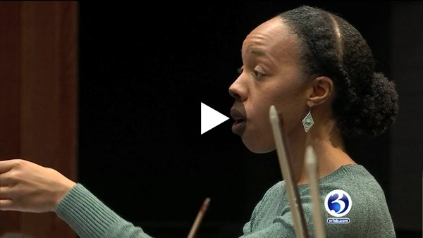 VIDEO: Great storyon Latinx (music) conductor Kalena Bovell (3 min long)
