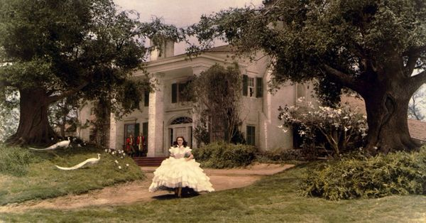 Gone With the Wind: Florence Yoch recreated the South on RKO's backlot - Curbed LA