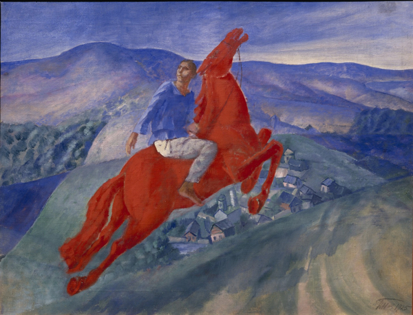Kouzma Petrov-Vodkine, Fantasy, 1925, Red sergisinden