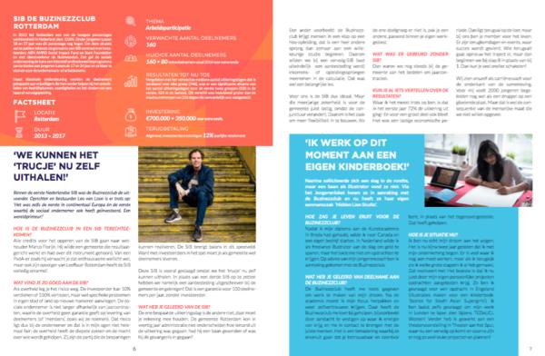 Successen en lessen van vijf jaar SIBs in Nederland