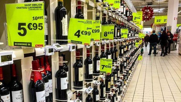 16% des Belges viennent faire leurs courses en France : qu'achètent-ils ? - 16% van de Belgen koopt levensmiddelen in Frankrijk: wat kopen ze?