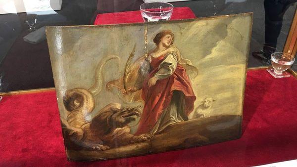 Une esquisse de Rubens vendue 1,3 million d'euros aux enchères - Een Rubens onder de hamer voor 1,3 miljoen euro.