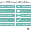 10 Trends That Will Reshape the Music Industry