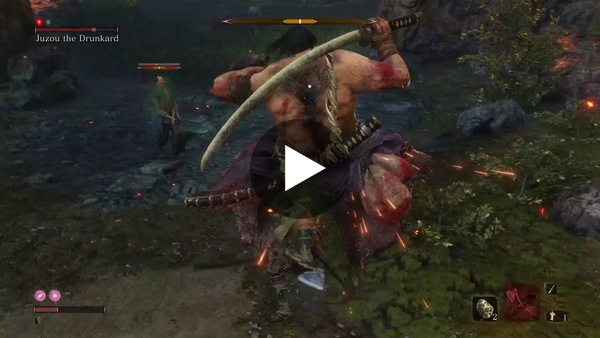 Jeff wants to share how his fight with Juzou the Drunkard went in Sekiro: Shadows Die Twice.