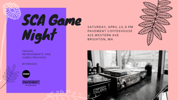 SCA Game Night: A Chill Alternative To Post-Expo Partying