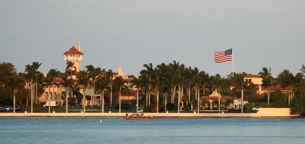 Het buitenverblijf van Trump in Florida (foto: Reuters)