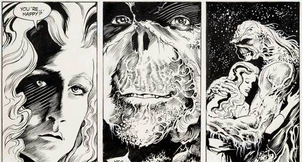 Steve Bissette - Swamp Thing Original Comic Art