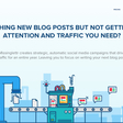 Grow your blog the right way - Missinglettr