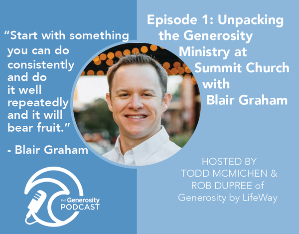 PODCAST: God is doing some incredible things in the Summit Stewardship and Generosity Ministry! Click the image above to hear how the Lord has grown a culture of stewardship and generosity under the leadership of Pastor J.D. Greear and our incredible volunteers.