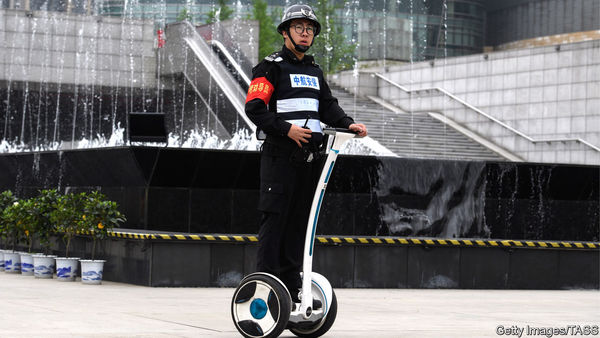 A Chinese Robotics Company Made Segway (Almost) Cool