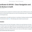 Coordinator & MVVM - Clean Navigation And Back Button In Swift